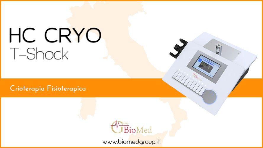Hc Cryo T-shock - Crioterapia-Fisioterapica-Fisioterapia