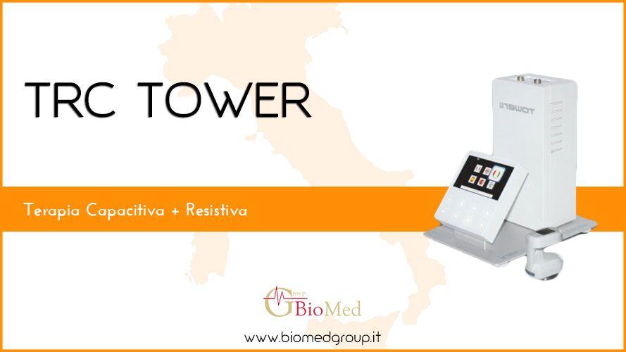 TRC Tower Terapia-Capacitiva-Resistiva-Fisioterapia