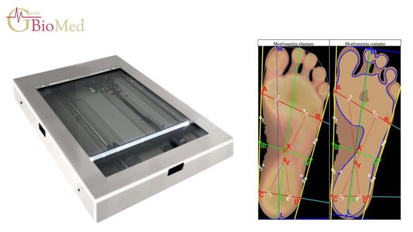 podoscopio elettronico podoscanalyzer