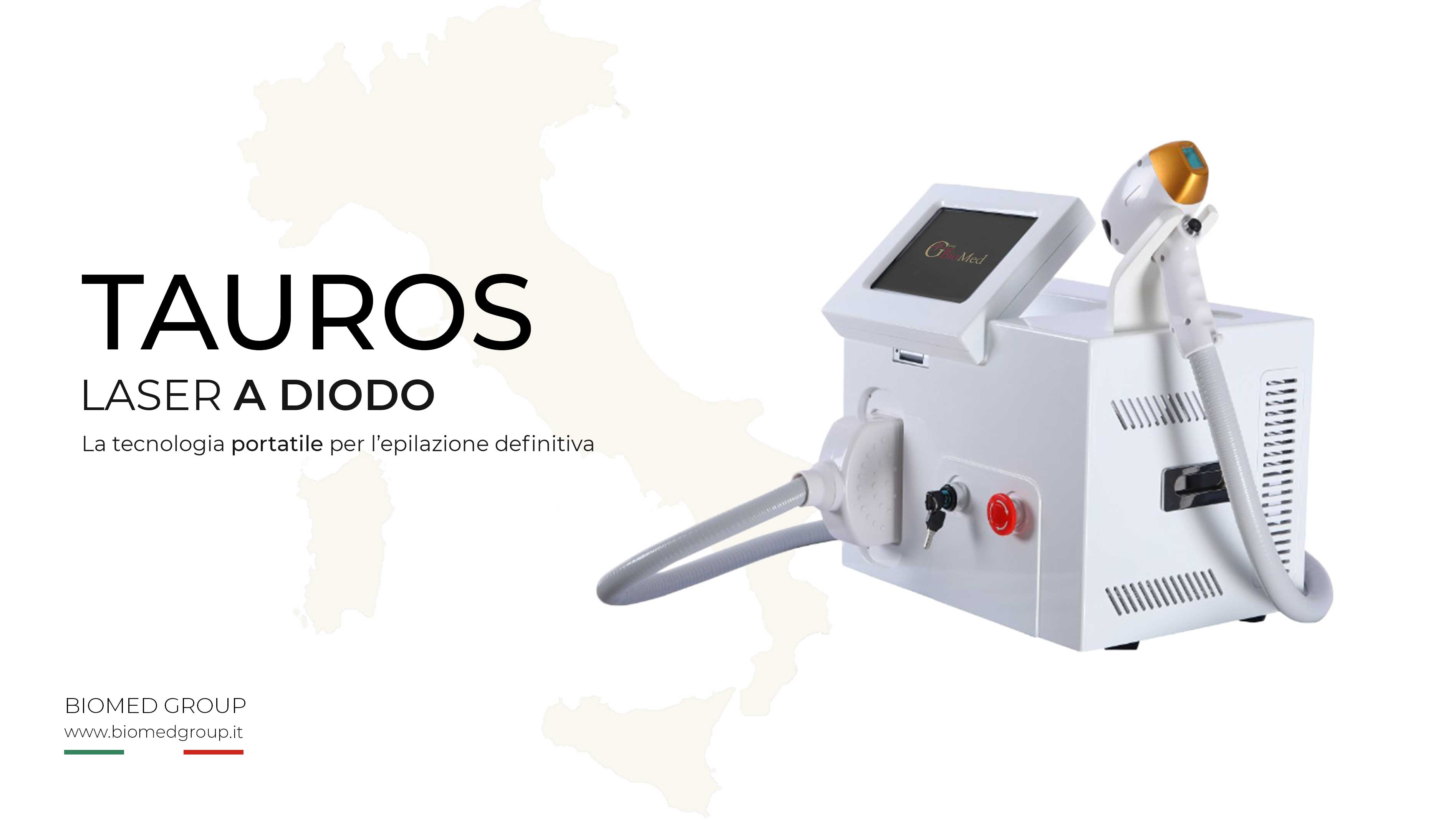 Tauros – Laser a diodo